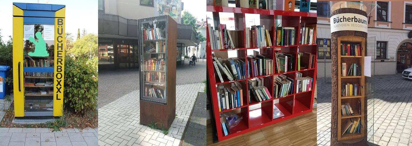Werde Pate eines Bücherschranks...